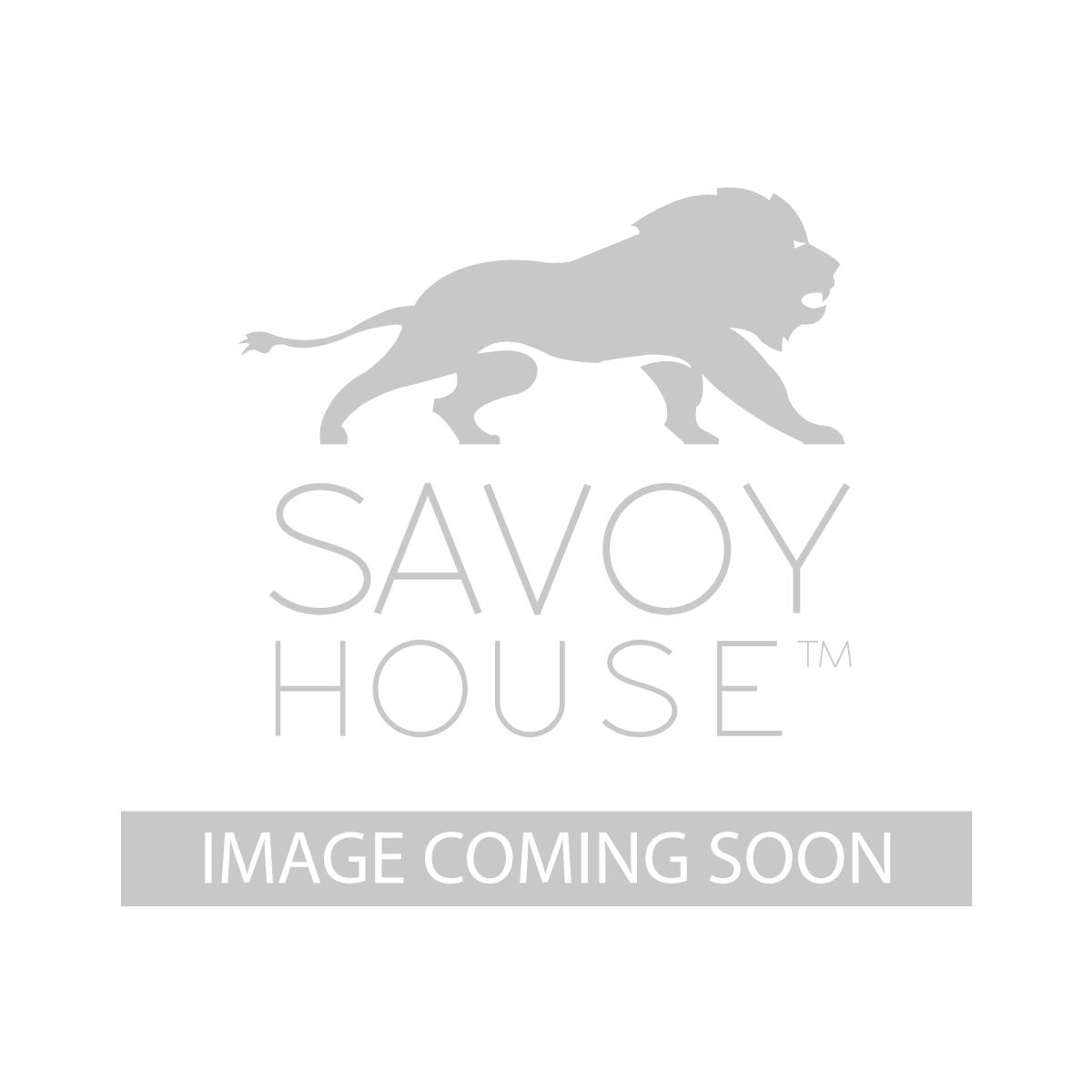 60 5025 3SV SN La Salle 60 inch 3 Blade Ceiling Fan by Savoy House