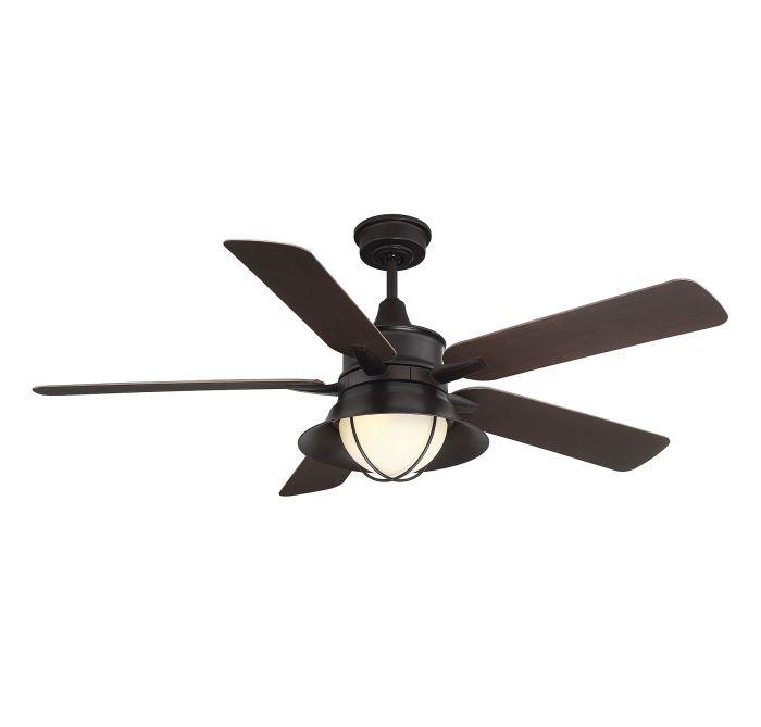 Hyannis 52 Inch 5 Blade Outdoor Ceiling Fan