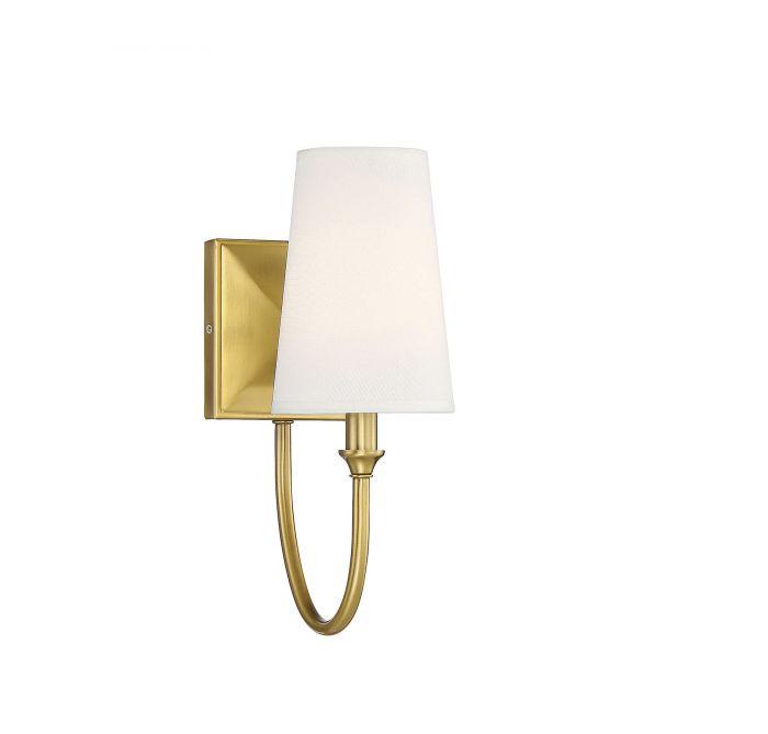 Cameron Warm Brass 1 Light Sconce