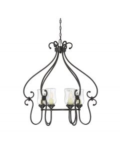Weston 6 Light Outdoor Chandelier
