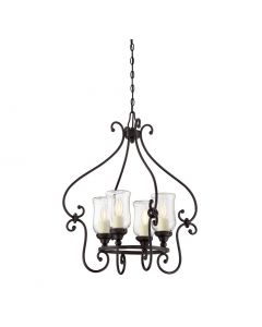 Weston 4 Light Outdoor Chandelier