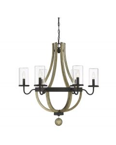Eden 6 Light Outdoor Chandelier