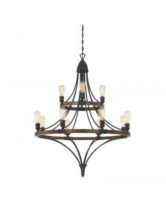 Turing 12 Light Chandelier
