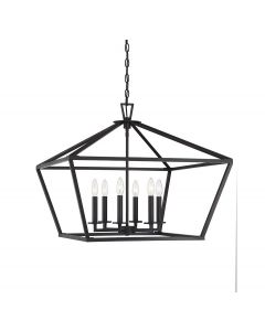 Townsend 6 Light Bronze Lantern