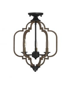 Westwood 3 Light Semi-Flush