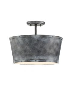 Dover 3 Light Semi Flush