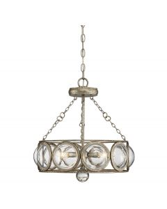 Warwick 3 Light Convertible Semi Flush
