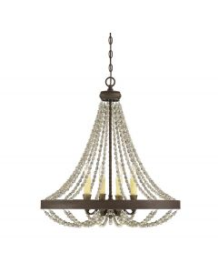 Mallory 4 Light Chandelier