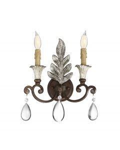 St. Laurence 2 Light Sconce