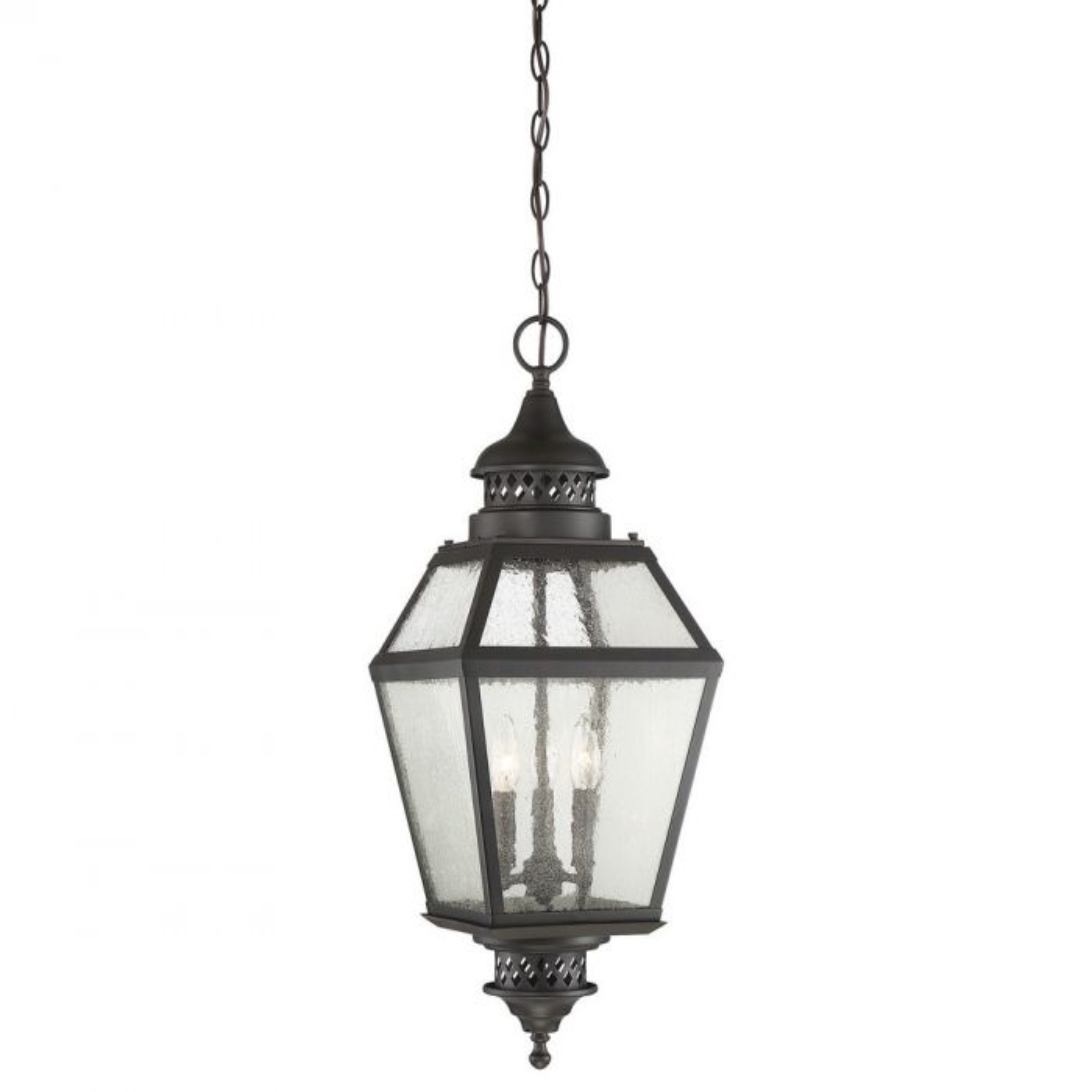 Chiminea 11 Hanging Lantern Outdoor Lights