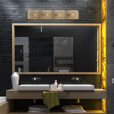 Regis Vanity 4 Light Bath Bar